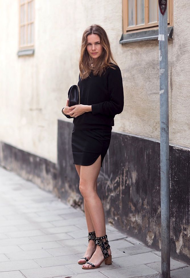 Get Caroline Blomst's Crazy Cool All-Black Look | Le Fashion | Bloglovin'