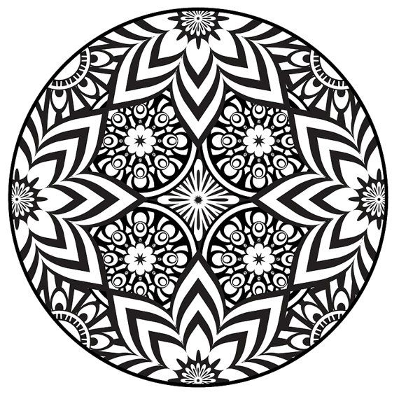 Best 25 Mandalas colores ideas on Pinterest Mandalas pinterest