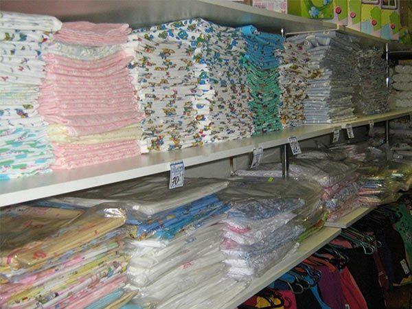 Торговое оборудование для магазинов постельного белья