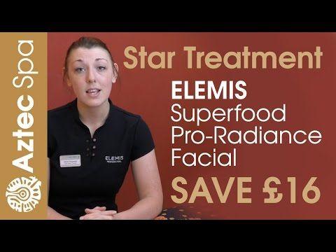 Aztec Spa in Torquay, latest ELEMIS Star Treatment - SAVE £16