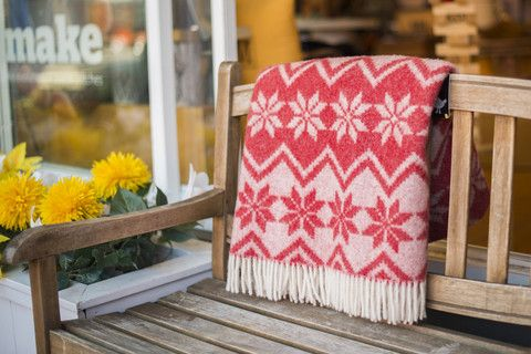 Cozy up this fall under a wonderful Klippan blanket and a cup of tea. Or take it to watch a fall sunset at Jericho beach