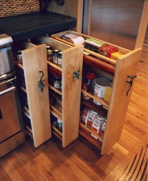 mutfak depolama fikirleri raflar cekmeceler dolaplar kiler dolaplari terekler (8)