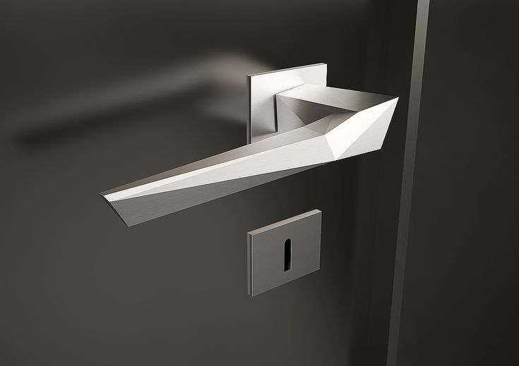 doorhandle *origami* designed by studioforma #Nimlok #inspiringdesign