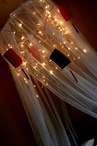 Bed Canopy With Lights 112 best cool bed canopies images on pinterest | bedrooms, home