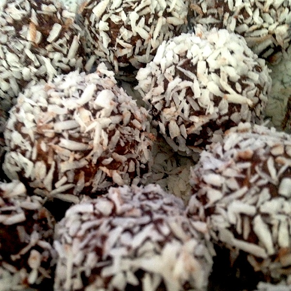 Swedish chocolate balls
