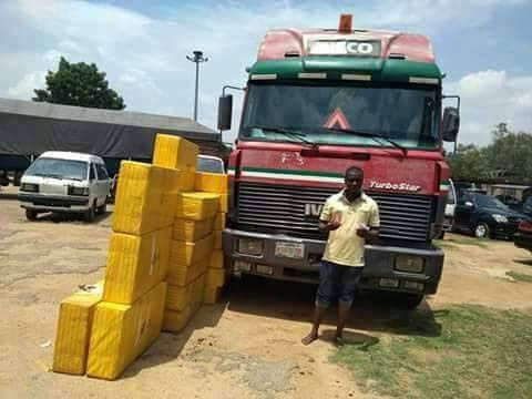 How Man Conceals N19million Worth Of Tramadol Tablets In Plasma TV Cartons. Photos
