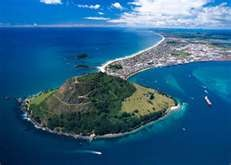 Tauranga - Mount Maunganui, New Zealand.  It's amazing how many of these places I have been for netball tournaments