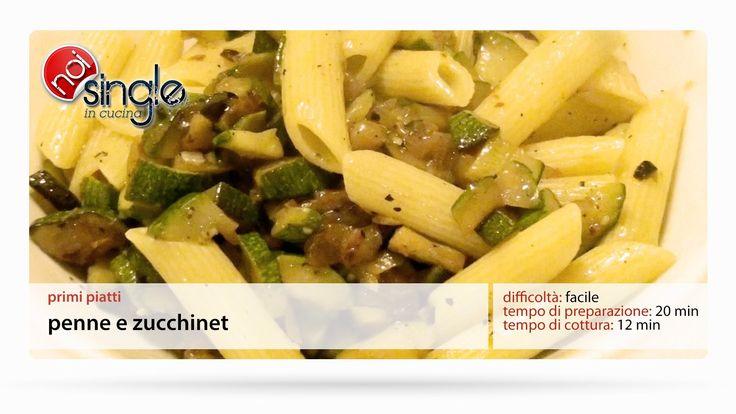 http://www.youtube.com/subscription_center?add_user=NoiSingleInCucina Come preparare un buon piatto di pasta con le zucchine. Una video ricetta che ci insegnerà a cucinare per noi stessi!  Difficoltà: semplice Preparazione: 20 minuti Costo: basso #pastazucchine #zucchine #primipiatti #noisingleincucina #ricettepersingle #cucinaitaliana #ricettefacili #singleincucina #facile