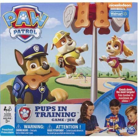 Spin Master Games, Paw Patrol Pups In Training Game - Walmart.com