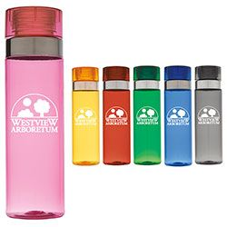 Norwood -Sport Bottle with Metallic Ring - 28 oz. A truly fashionable Sports Bottle - love the pink.