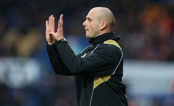 Adam Murray Photos Photos - Mansfield Town manager Adam Murray gives instructions during the Sky Bet League Two match between Mansfield Town and Northampton Town at One Call Stadium on February 14, 2015 in Mansfield, England. - Mansfield Town v Northampton Town - Sky Bet League Two