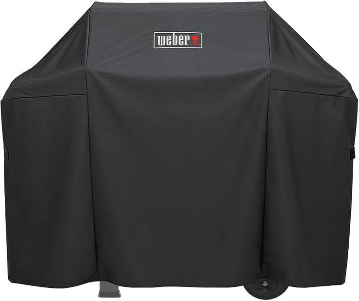 Weber Spirit Ii Premium Black 3 Burner Grill Cover In 2020 Grilling Cover Black