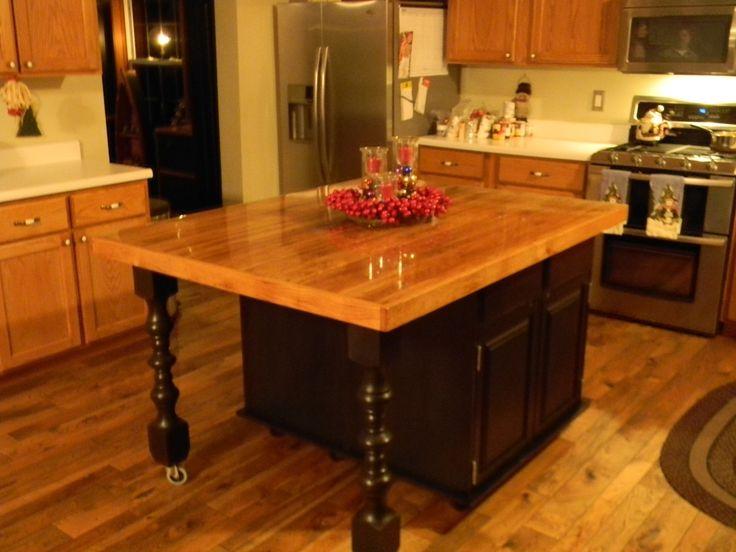 Kitchen Island Wood Top Ideas