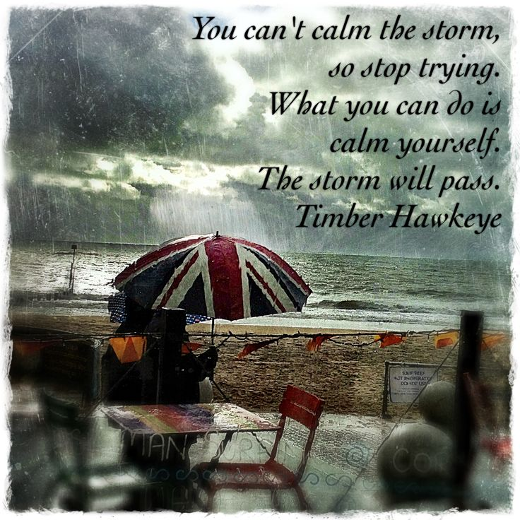 You can't calm the storm - my photograph taken at Urban Reef, Boscombe.