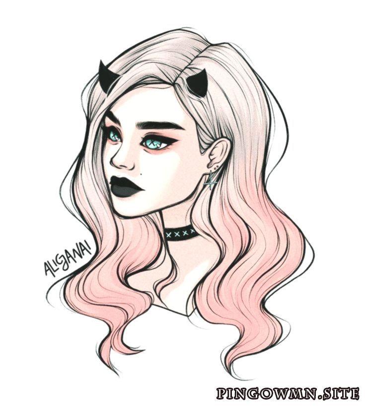 Comment facile de dessiner les cheveux? # Plus sur sketching.frisur # – #easy #dress #ha …   – Places to visit