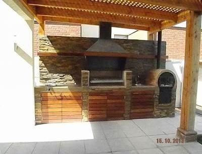 Dise os de asadores para terrazas buscar con google for Puertas para patios modelos
