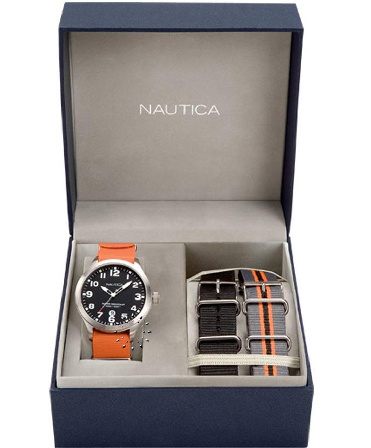 NAUTICA Orange Fabric Box Set Μοντέλο: A09921 Η τιμή μας: 127€ http://www.oroloi.gr/product_info.php?products_id=33921