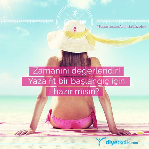 Yaz için biz geri sayıma başladık! Ya sen?  #motivasyon #spor #diyet #pazartesi #egzersiz