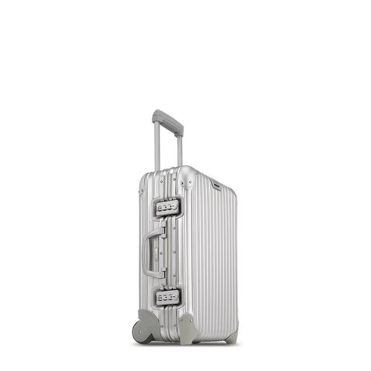 RIMOWA | Topas Cabin Trolley IATA 32.0L silver carry on luggage