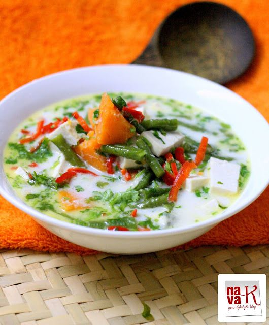 nava-k: Serai Sayur Lodeh (Coconut Vegetable Stew)
