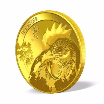 Buy Puregold Singapore Golden Rooster Gold Coin 5g online at Lazada Singapore. Discount prices and promotional sale on all Pendants. Free Shipping.