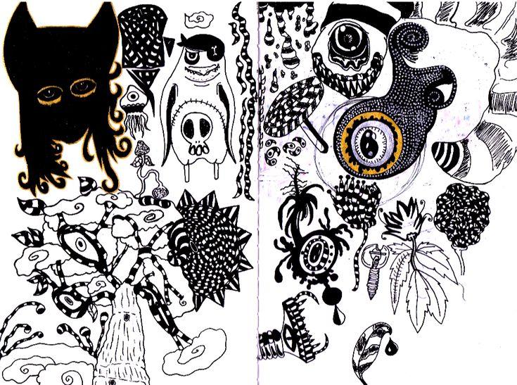 Old Doodles by VisualKeiBunny on DeviantArt