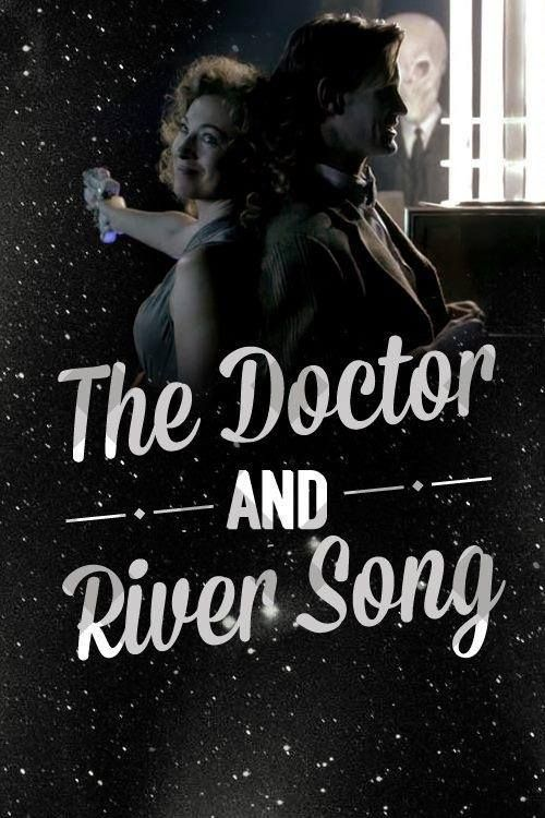 The doctor and River Song......and The Silence is being a creeper in the background......>>>I don't see anything....