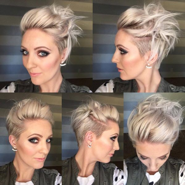 The super cute undercut of @emilyandersonstyling.