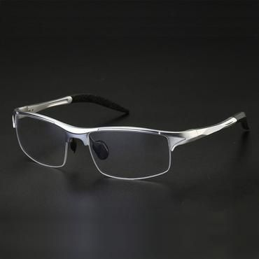 b3b0ffa46c 8177 Optical Eyeglasses Frame for Men Eyewear Prescription Glasses Half Rim  Man Spectacles Alloy Frame Eyeglasses