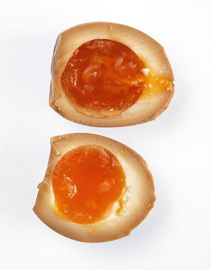 soft-boiled egg, or ni tamago using it for ramen noodles