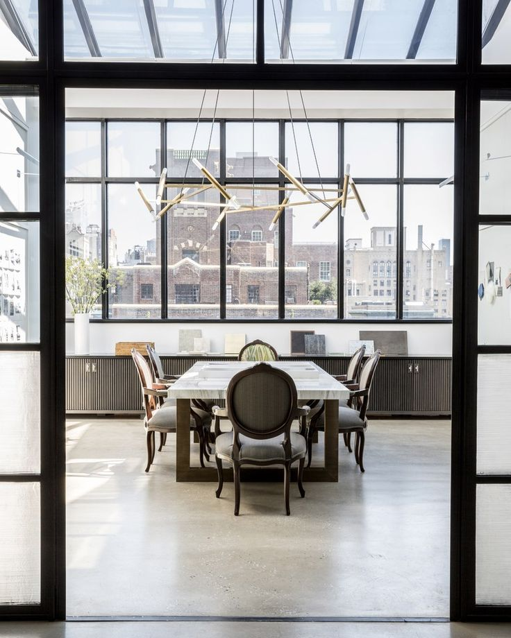 Look Inside Jamie Drake And Caleb Andersons Sleek Manhattan Office