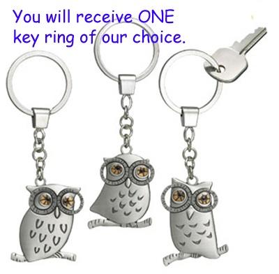 Ganz Owl Key Ring $5.95