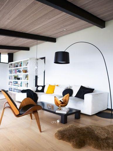 Scandinavian living room #scandinavian