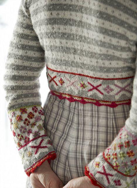 Bolero Fritt etter Fanaby by Sidsel J. Høivik on Ravelry: knitting pattern in a Norwegian book