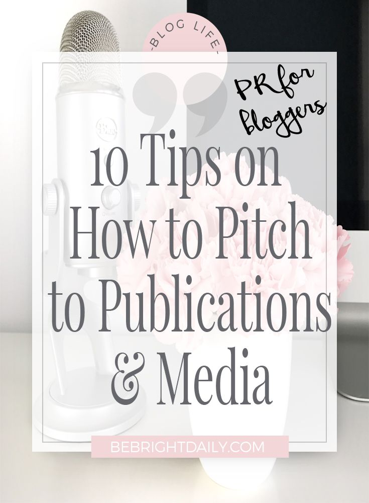 Guest blogging can be a great way to build relationships, beef up your press page, and promote your expertise to others. By following these 10 tips on how to pitch to publications, you will be well on your way to scoring the collaborations of your dreams! Read more now!