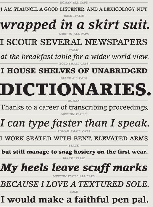 good thesis fonts
