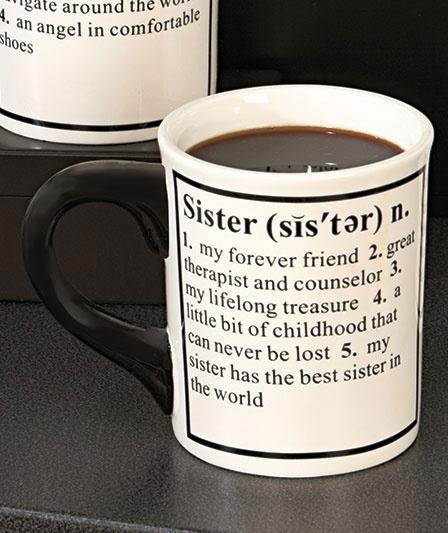 24-Oz. Sister Definition Mug|The Lakeside Collection