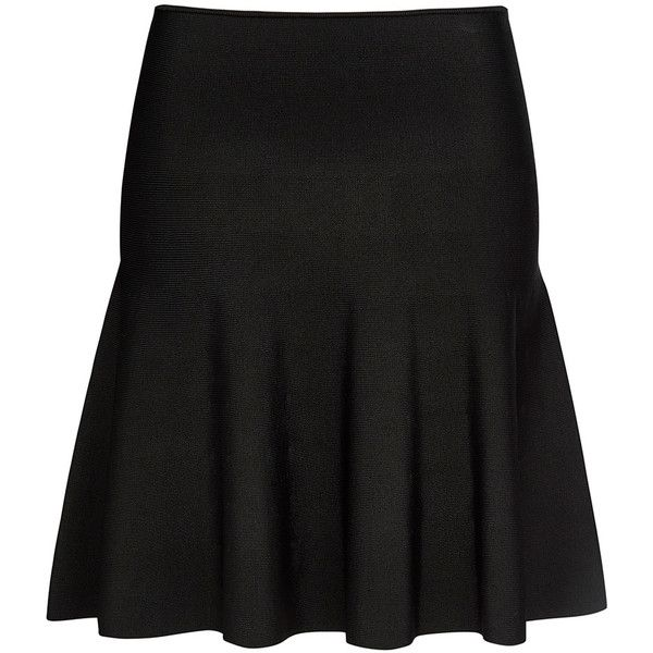 MILANO CREPE SKIRT ($99) ❤ liked on Polyvore featuring skirts, knee length pleated skirt, textured skirt, sports skirts, sport skirts and pull on skirts