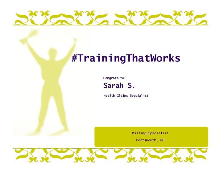 Congrats sarah licensed massage therapist medical