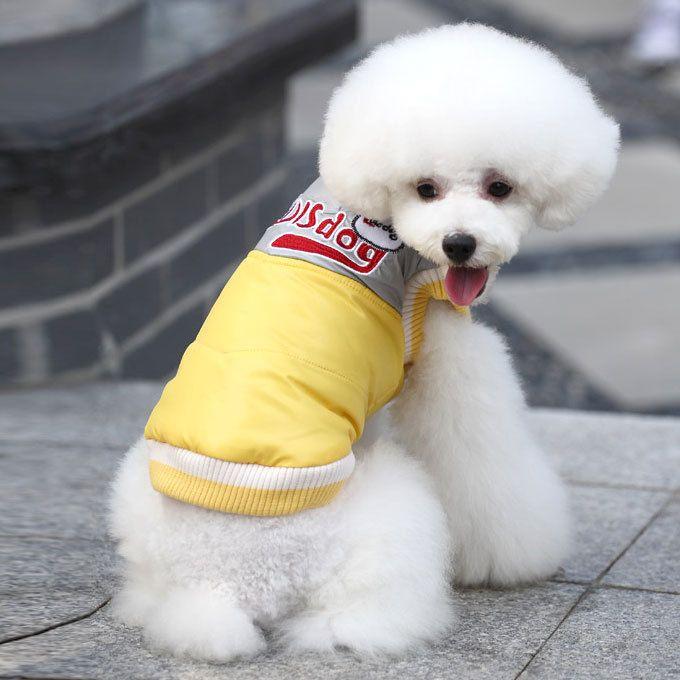 New ropa para perros pet product conspicuous color block ski suits pet clothes s-xl sizes