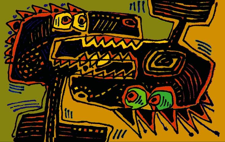 Serge Pichii   Drawings: użeranie