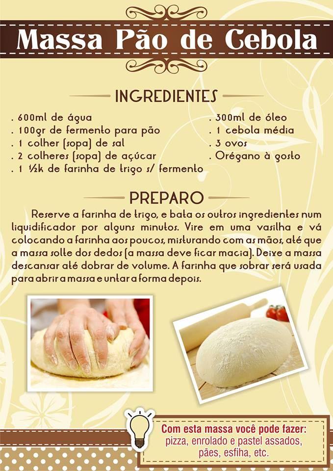 Pão de cebola.