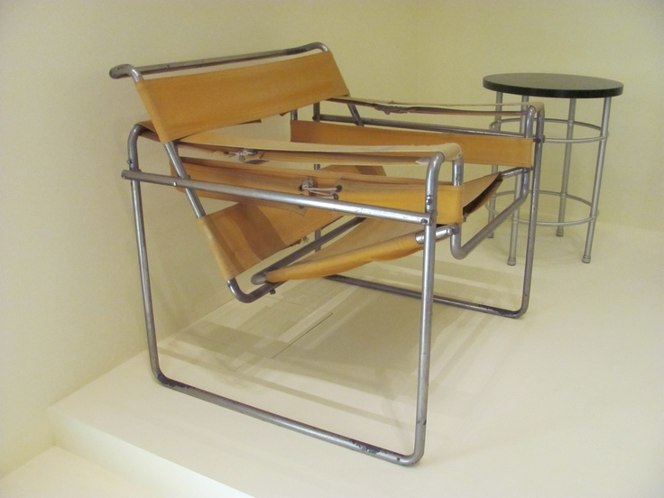 Marcel Bruer's Club Chair at the Virginia Museum of Fine Arts