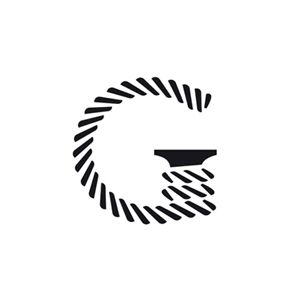 Logo for Finnish ship-broking and logistics consultancy The Shipping Guru designed by Werklig.