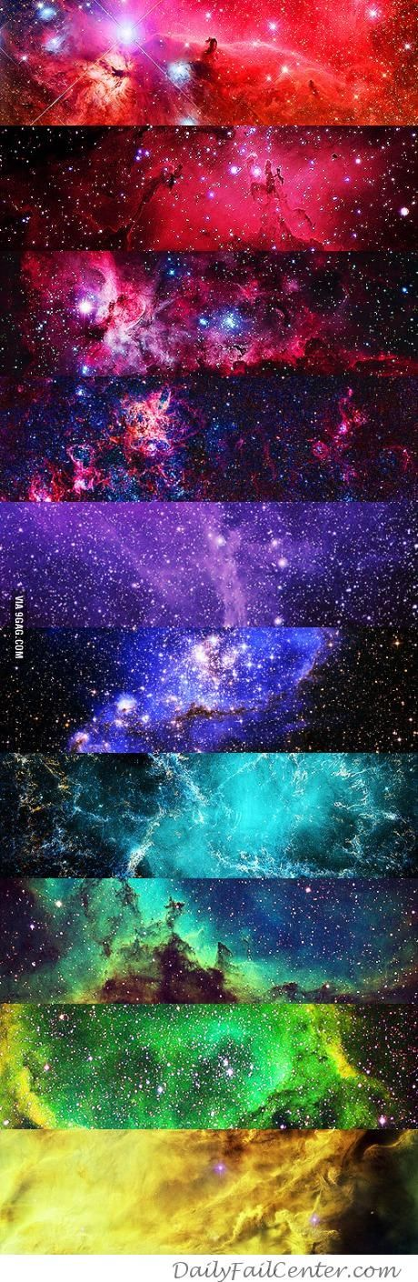 All the colors of the universe | DailyFailCenter