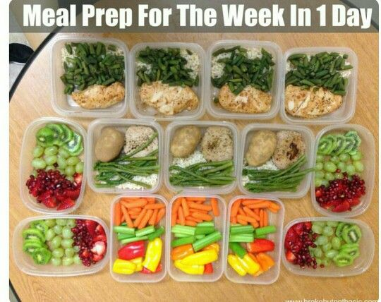 Meal Prep Lunch for 7 days