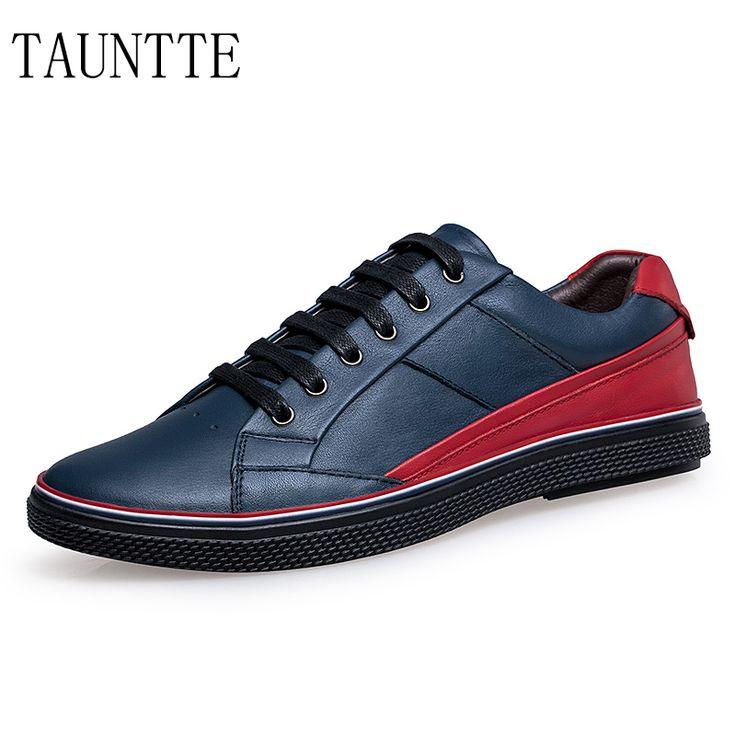 Hommes Chaussures en Cuir Printemps Automne Comfort Lace-up Chaussure de Conduite Chaussures Pointues Léger Respirant (Couleur : Une, Taille : 37)