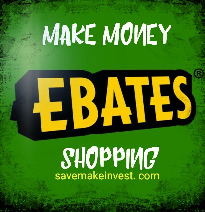 Make money by shopping through Ebates.