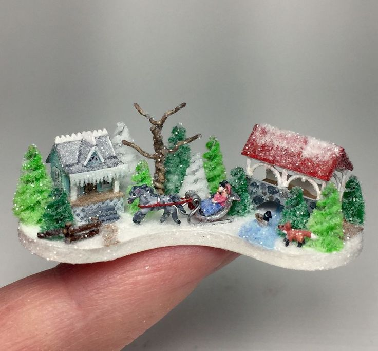 1850 best miniature glitter houses images on pinterest