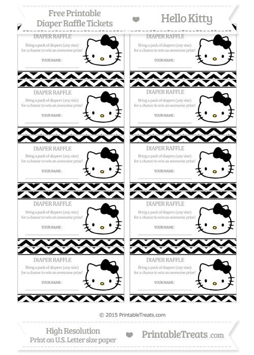 23 best Free printables images on Pinterest Baby shower - free downloadable raffle ticket templates